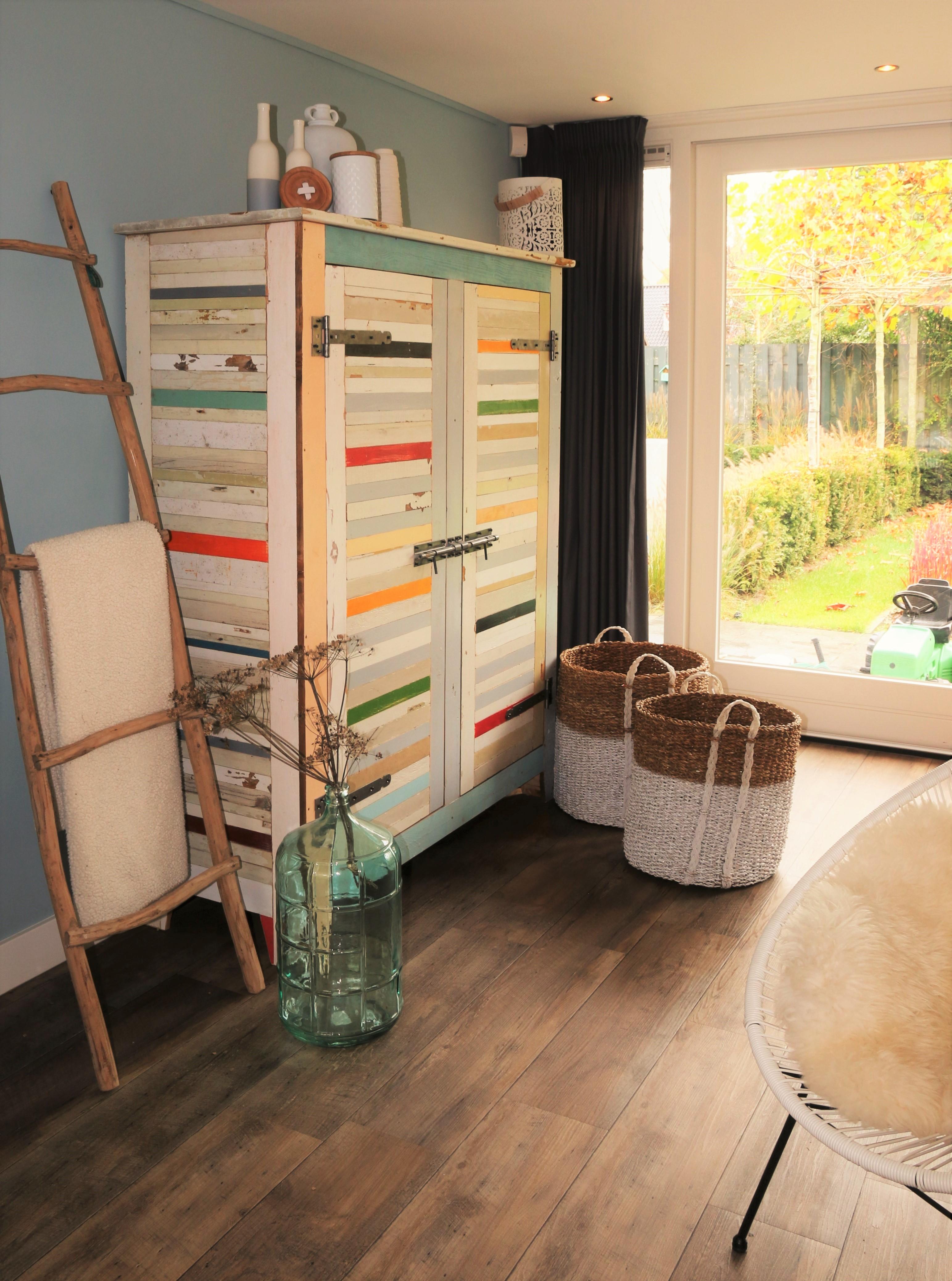 Woonkamer, eetkamer & hal | STUDIO-Sanne - Interieur ontwerp, advies ...